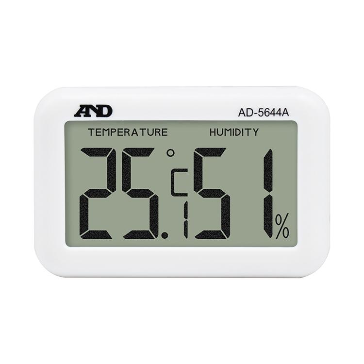 大きな表示のデジタル温湿度計 AD-5644A