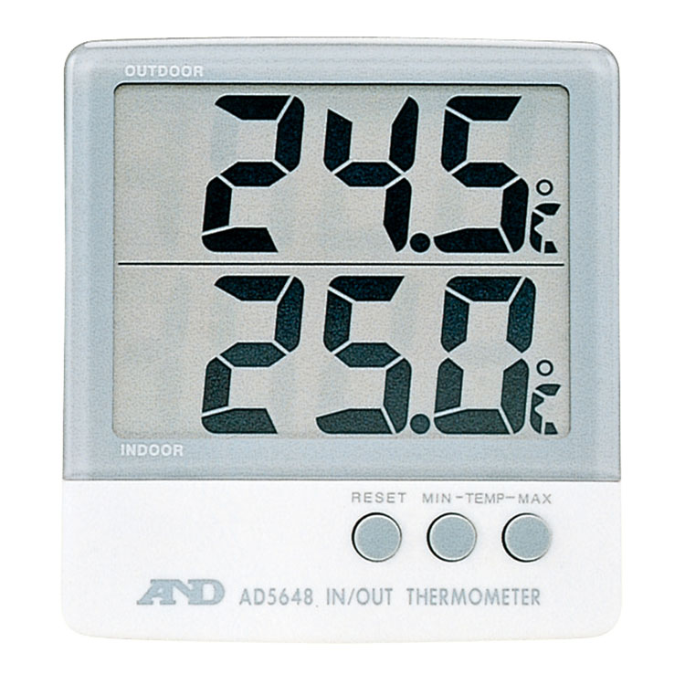 外部センサー付き温度計 AD-5648
