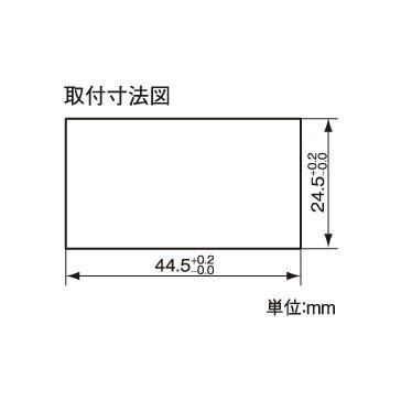 組込み型温度計 AD-5652 画像