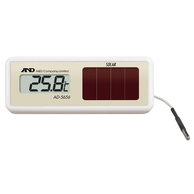 ソーラー式組込み型温度計 AD-5656