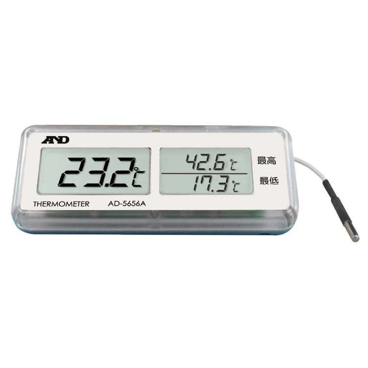 組込み型 最高・最低温度計 AD-5656A
