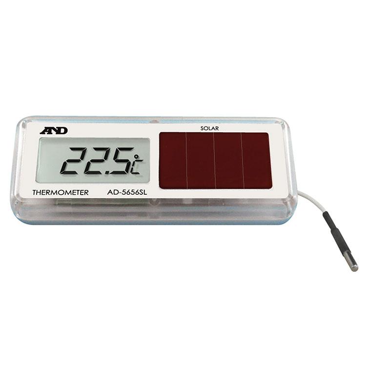ソーラー式 組込み型温度計 AD-5656SL