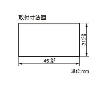 組込み型温度計 AD-5657 画像
