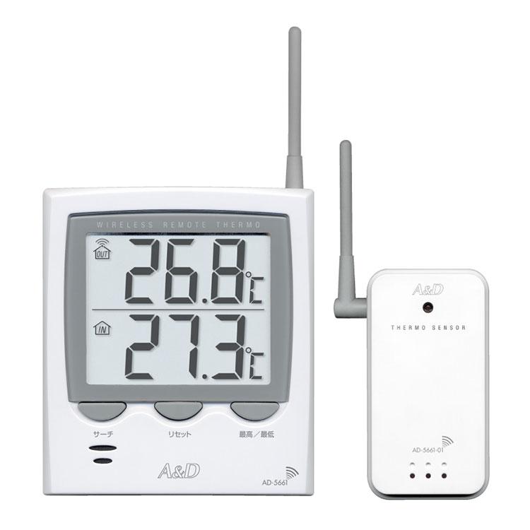 ワイヤレス温度計 AD-5661 / AD-5661S