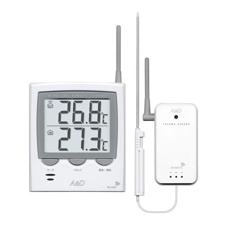 ワイヤレス温度計 AD-5661 / AD-5661S 画像
