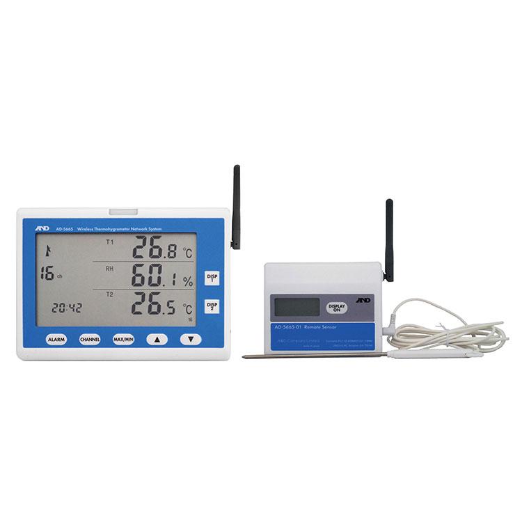 ZigBeeワイヤレス温湿度計測システム AD-5665シリーズ