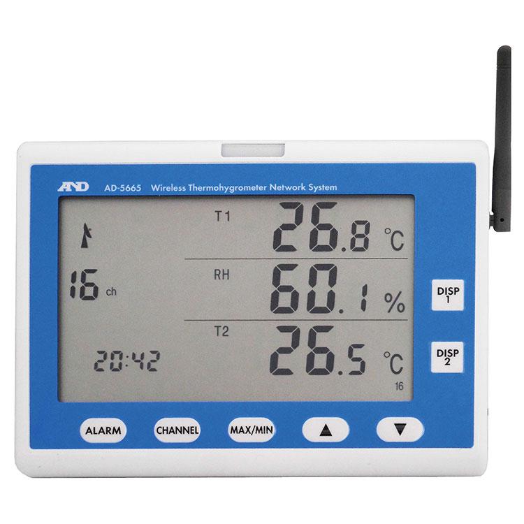 ZigBeeワイヤレス温湿度計測システム AD-5665シリーズ 画像