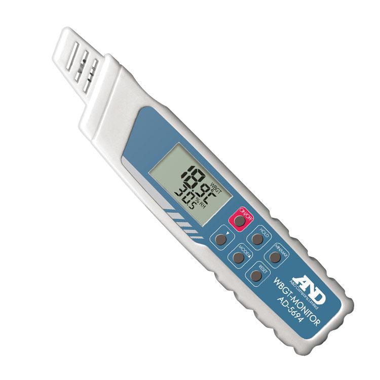 携帯型 熱中症指数モニター AD-5694