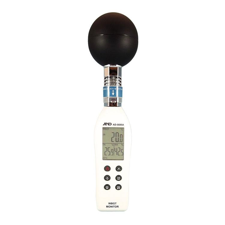 黒球形 熱中症指数計 / 熱中症指数モニター AD-5695A
