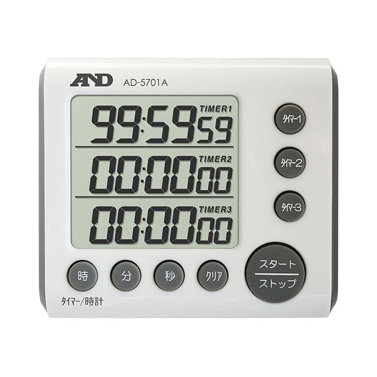 3チャンネル100時間タイマー AD-5701A