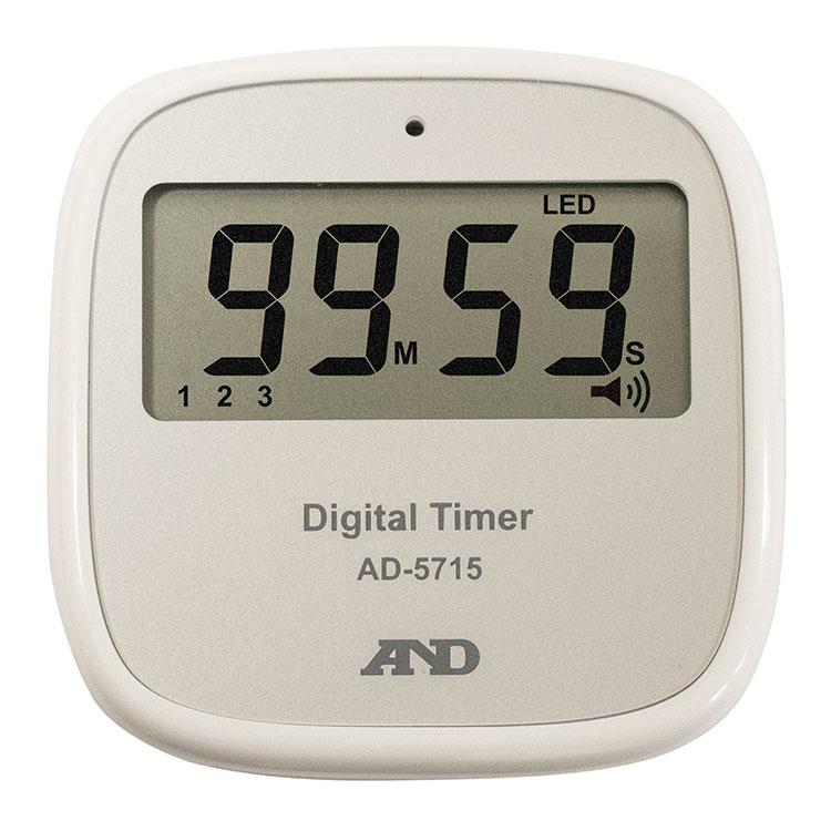 非接触タイマー / スマートスタート タイマー 100分形デジタルタイマー AD-5715