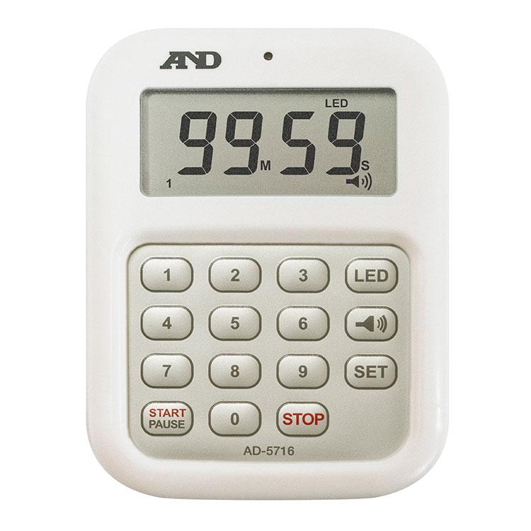 100分形デジタルタイマー 大音量デジタルタイマー AD-5716